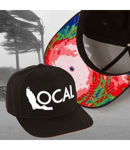 The Local Brand The Doppler Black Snapback Hat