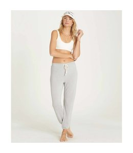 Billabong Cozy Coast Ice Athletic Grey Fleece Pant