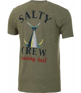 Salty Crew Chasing Tail Peppered Sage Short Sleeve Tee