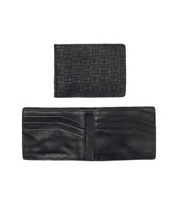 Nixon Cape SE Bi-Fold Black Leather Wallet