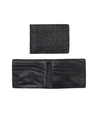 Nixon Cape SE Bi-Fold Black Leather Wallet