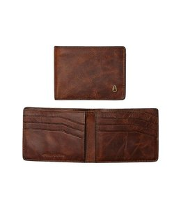 Nixon Cape SE Bi-Fold Brown Leather Wallet