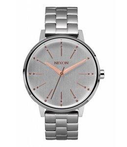 Nixon Kensington Silver/Light Gold 37mm Watch