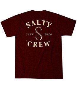 Salty Crew Heathered S Hook Tee