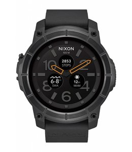 Nixon Mission All Black 48mm Smartwatch