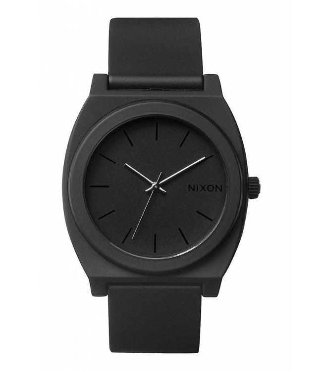 Nixon Time Teller P Matte Black 40mm Watch