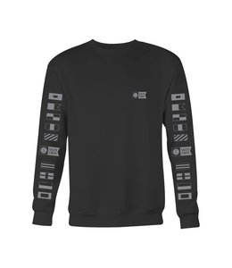 Salty Crew Alpha Black Crew Fleece