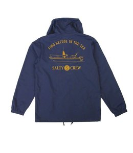 Salty Crew Admiral Navy Snap Jacket