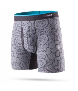 Stance Tile Check Grey Boxer Brief