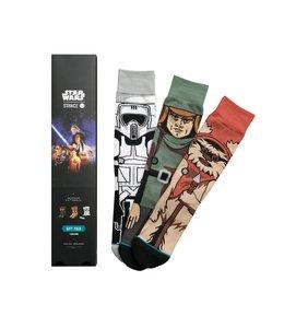 Stance Star Wars Return Of The Jedi 3 Pack Socks