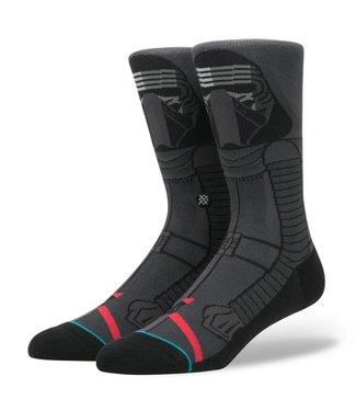 Stance Star Wars Kylo Ren Black Crew Socks