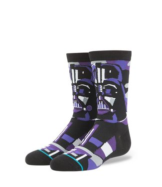 Stance Star Wars Vader Mosaic  Boys Black Crew Socks