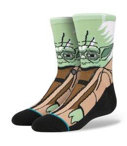 Stance Star Wars Yoda Boys Green Crew Socks