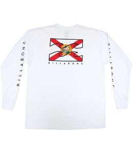 Billabong Florida Native White Long Sleeve Tee