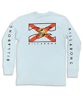 Billabong Florida Native Light Blue LS Tee
