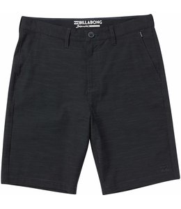 "Billabong Crossfire X Slub Black 21"" Submersible  Shorts"