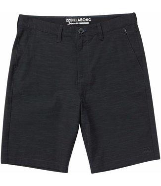"Billabong Crossfire X Slub Black 21"" Submersible  Shorts"