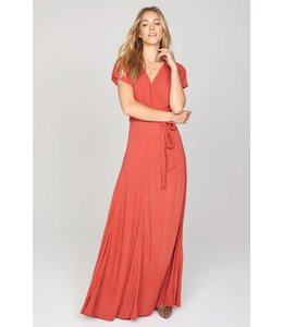 Amuse Society Beachscape Salsa Red Dress