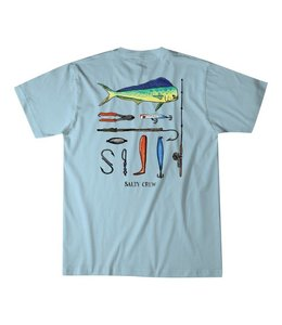 Salty Crew Galleon Coastal Blue Tee