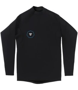 VISSLA 1 mm Performance Black Long Sleeve Jacket