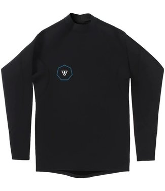 VISSLA 1 mm Performance Black Long Sleeve Jacket