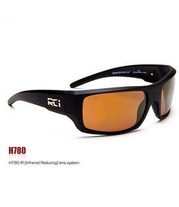 RCI Optics Monster Hole 2.0 Matte Black Copper Lense