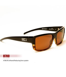 RCI Optics Reef Road Black Tort Copper Sunrise Gold Lense