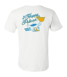 Happy Pelican White Tee