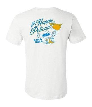 Happy Pelican White Tee