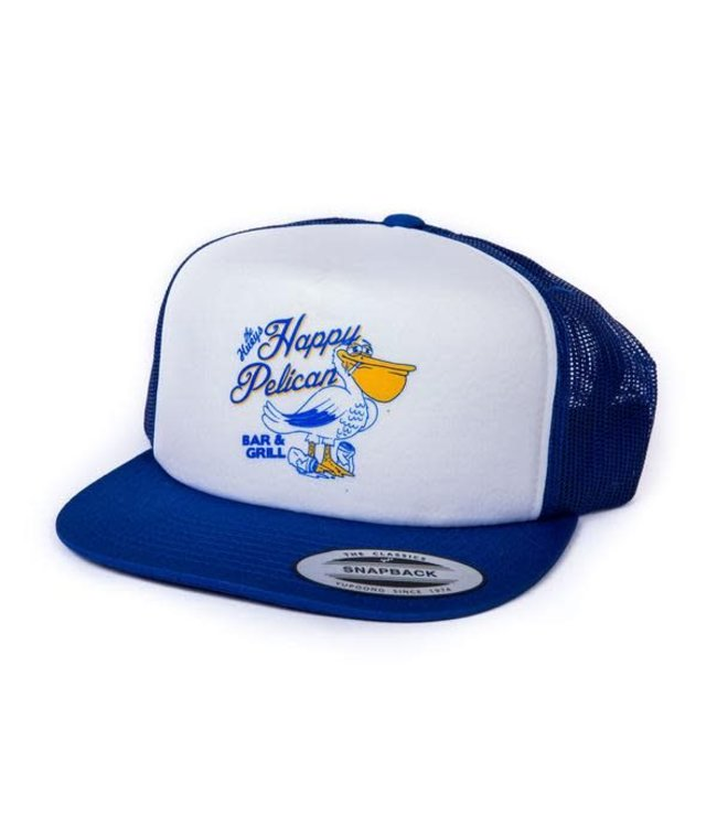 Happy Pelican Snapback Hat