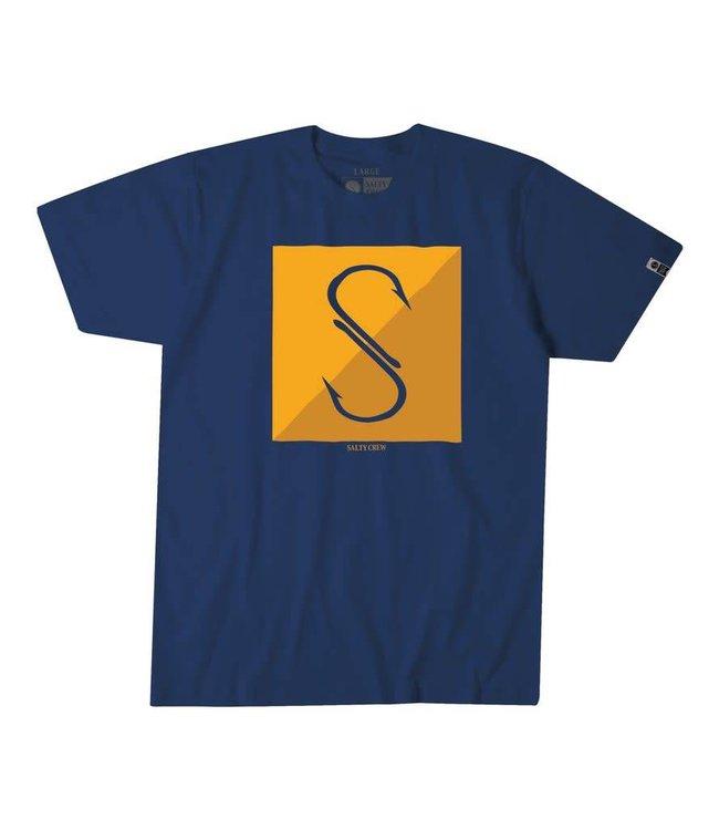 Salty Crew Jib Navy T-Shirt
