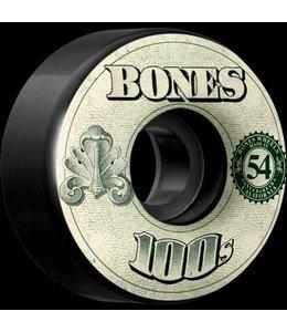 Bones 100's OG 51mm Money Formula Skate Wheels