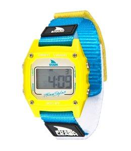 FREESTYLE Shark Classic Leash Yellow/Cyan Watch