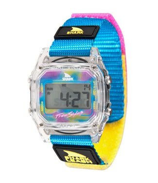 FREESTYLE Shark Leash Classic Clear/Cyan Watch