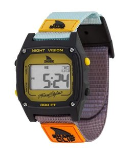FREESTYLE Shark Classic Clip Turq/Blk/Mustard Watch