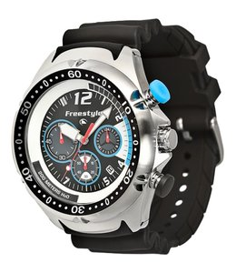 FREESTYLE Shark Hammerhead Chrono XL SS/Black Watch