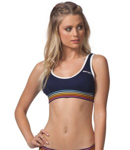 Rip Curl Surforama Navy Bralette Bikini Top