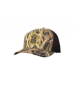 Salty Crew Members Grass Blades Retro Trucker Snapback Hat