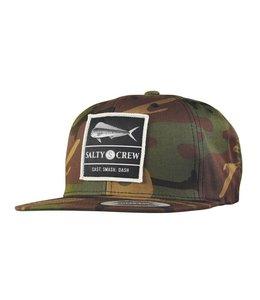 Salty Crew El Dorado Camo Snapback Hat