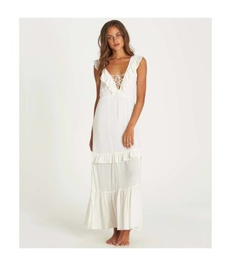 Billabong Romance Row White Maxi Dress