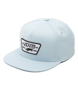 Vans Full Patch Baby Blue Snapback Hat