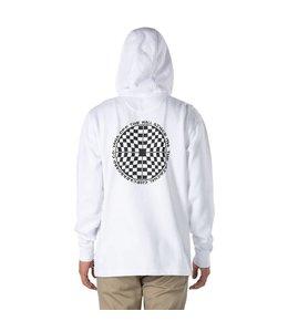 Vans Checkered 1/4 Zip White Hoody