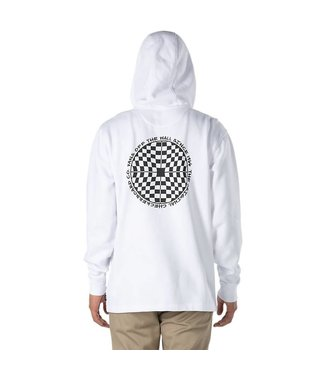 Vans Checkered 1/4 Zip White Hoody