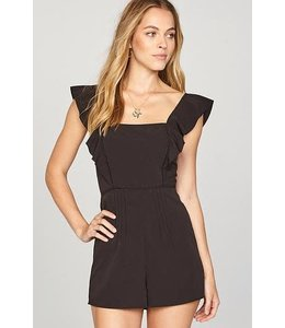 Amuse Society Sunday Lover Black Romper