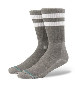 Stance Joven Grey and White Striped Socks