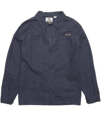 VISSLA Woodside Chore Navy Jacket