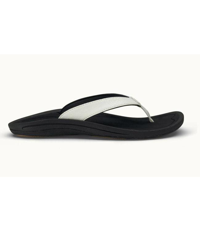Women's flip flops / KULAPA KAI white/black - olukai