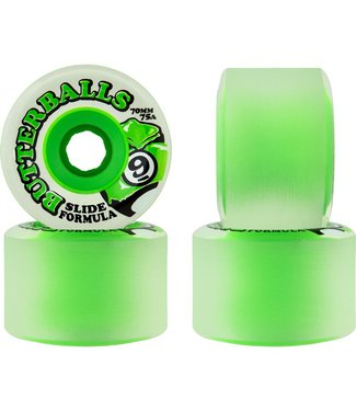 Sector 9 Slide Butterballs 75a 70mm Wheels