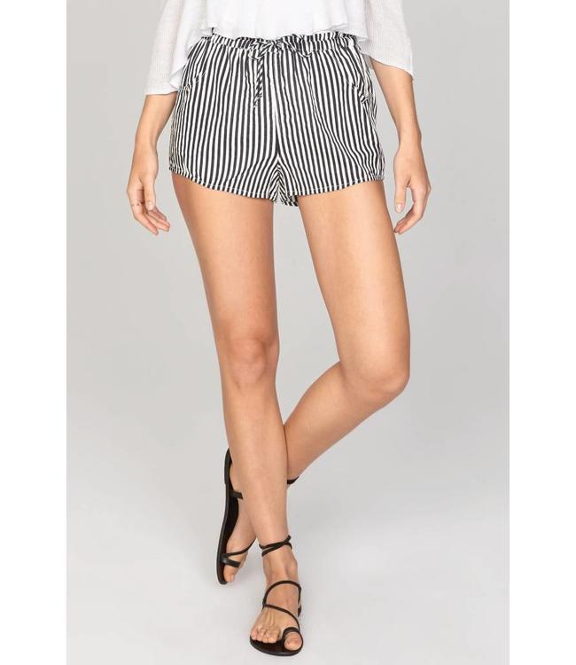 Amuse Society Short Expectations Black Shorts