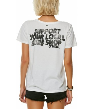 ONEILL Surf Shop White Tee